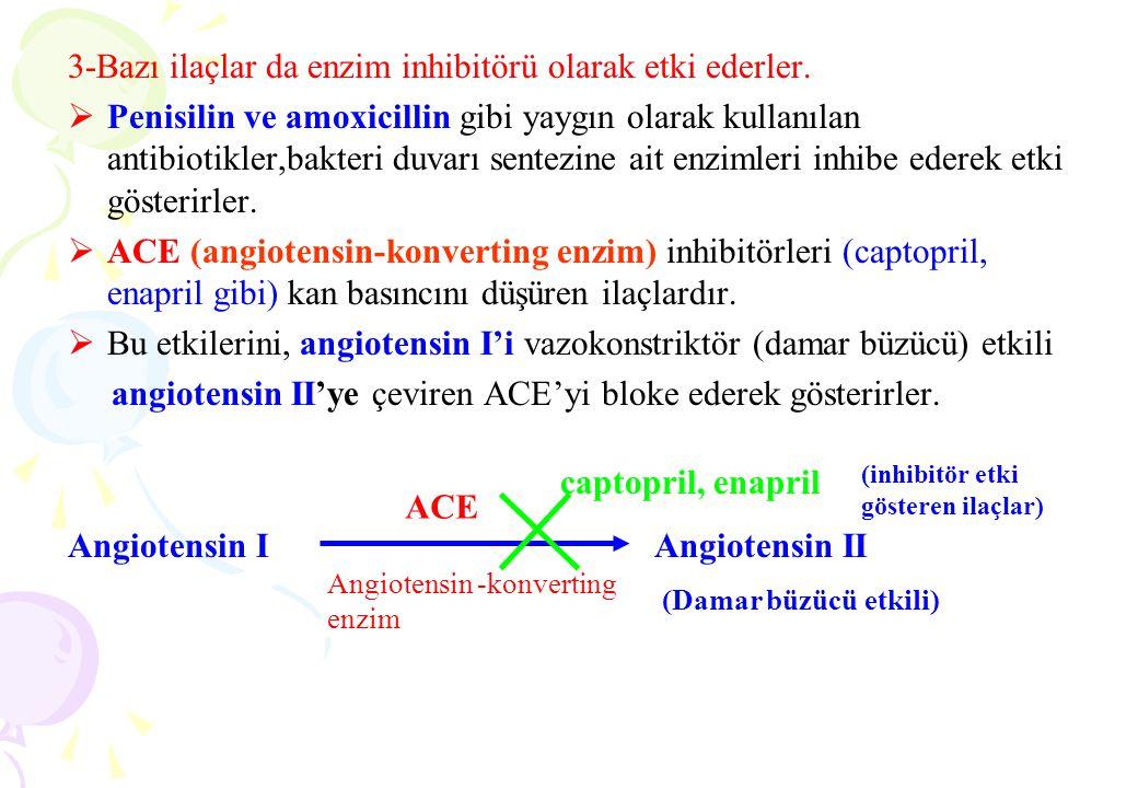 Reaksiyonun denge durumunda : k1 [E] [S] = [k2 + k3] [ES] (1)